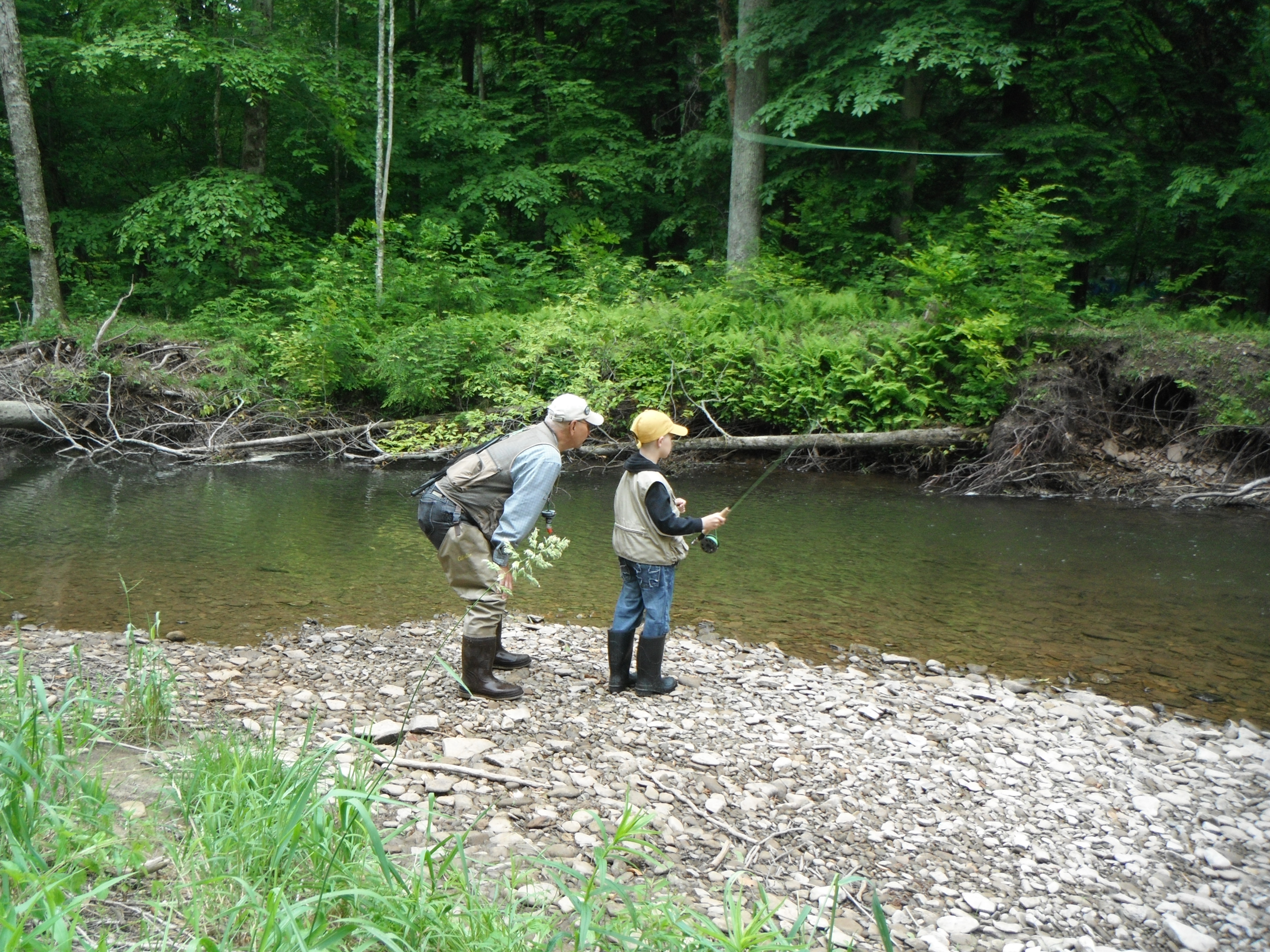 Thetroutscout captures flyfishing experiences for Fishing in pennsylvania