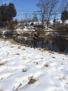 Craig Coder on Big Spring in February